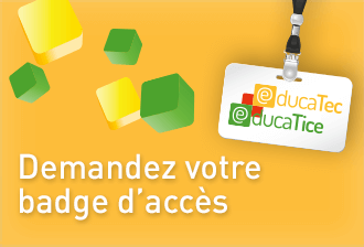 Badge educatec educatice
