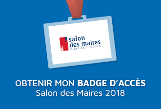 Badge salon des maires 330
