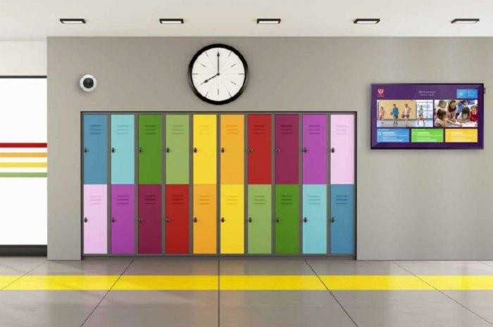 Affichage dynamique couloir