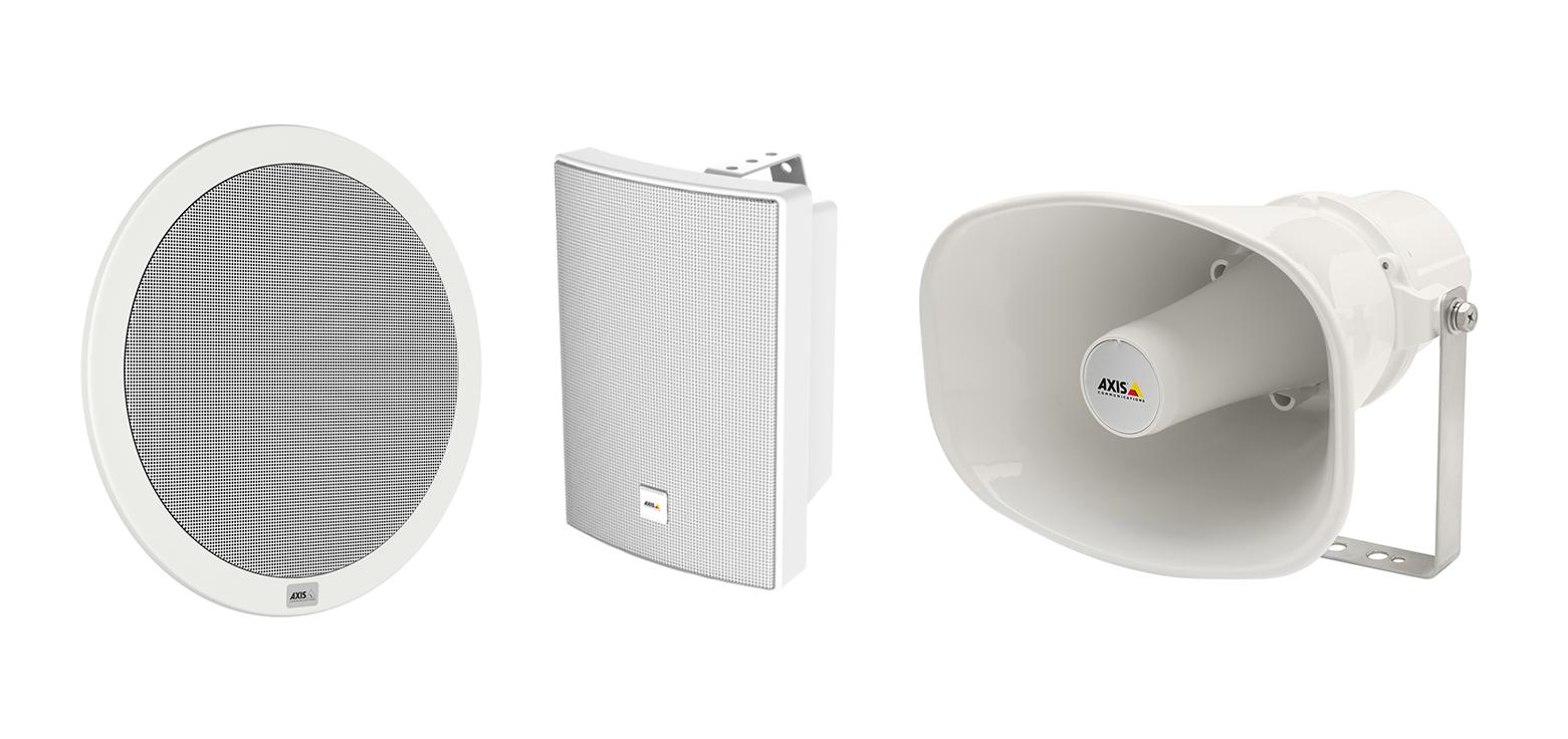 Systeme audio haut parleurs