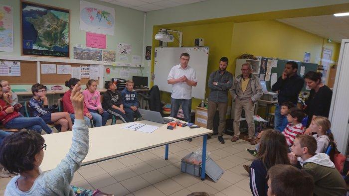École du Maquelot à Saint Hilaire de la Noaille (33)